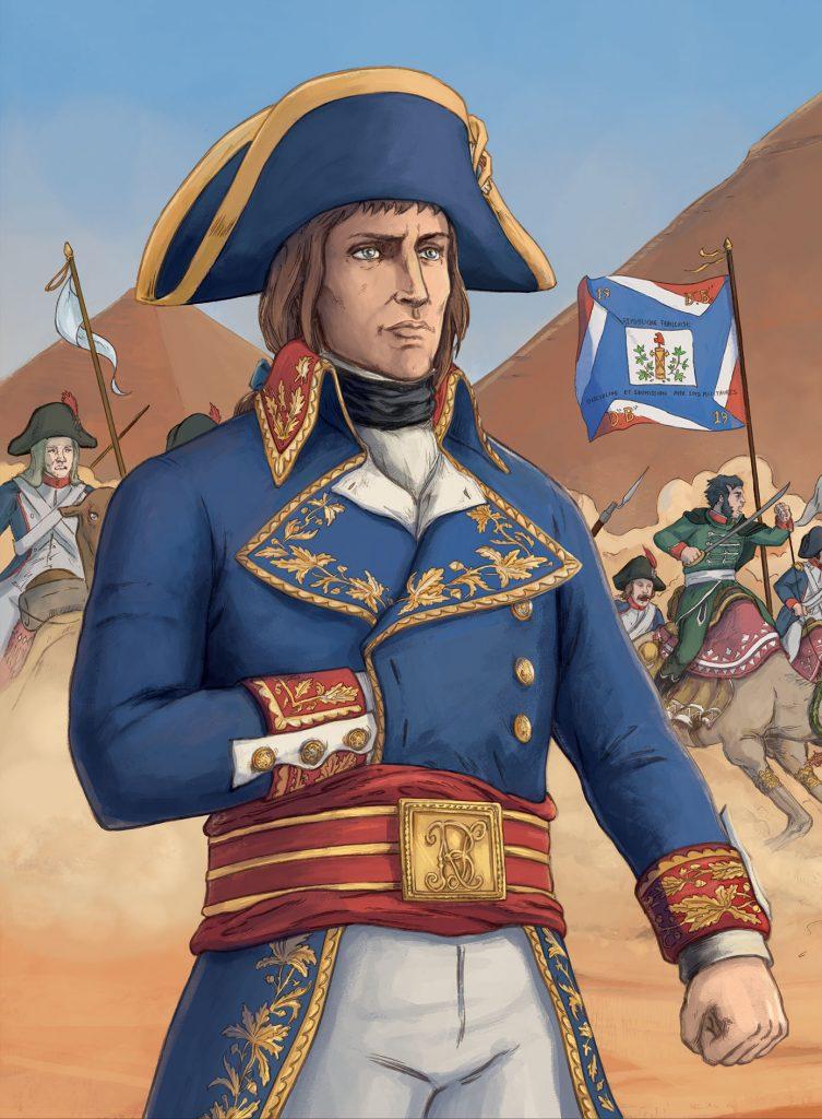 Napoléon en bande dessinée : l'ascension fulgurante du général corse