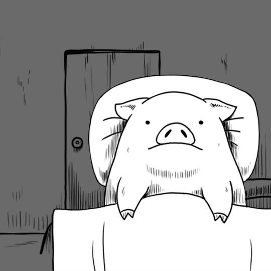 Webtoon : David, le cochon qui parle