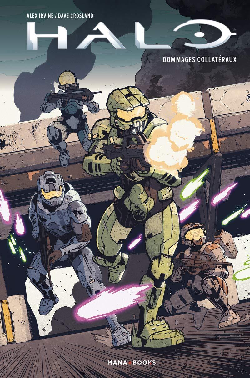 Le comic book Halo : Dommages Collatéraux