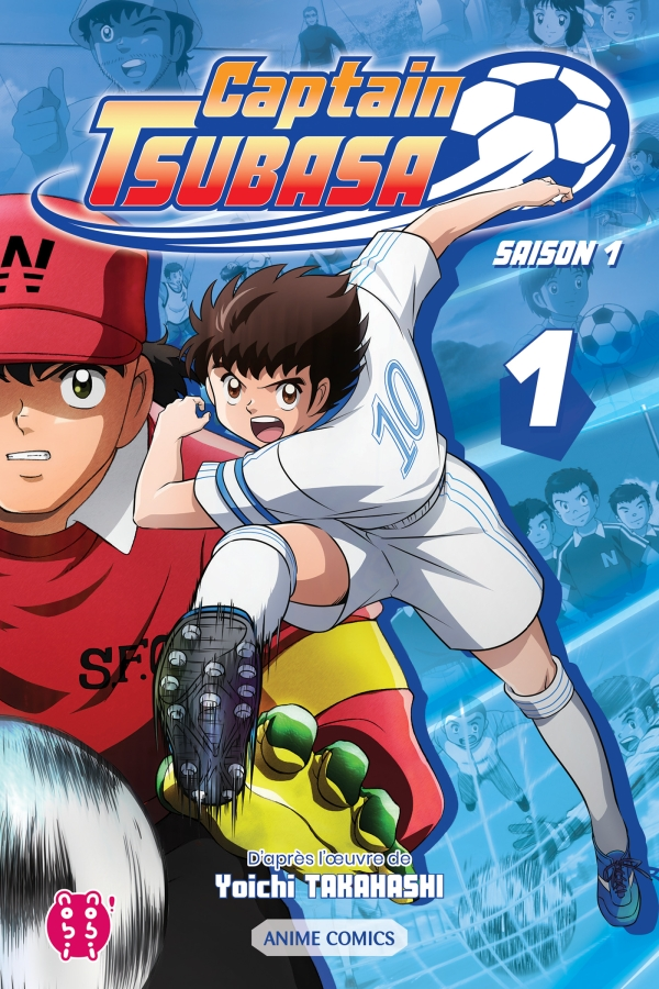 Captain Tsubasa Anime Comic
